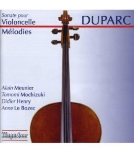 Duparc - Mélodies +sonate cello