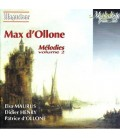 Max D'Ollone - Mélodies Vol.2