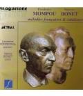Mompou - Bonet mélodies françaises et Catalanes EPUISE