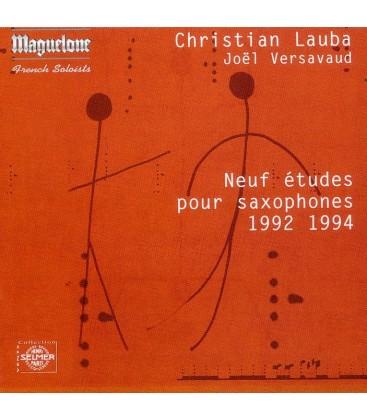 Lauba Neuf études pour saxophones