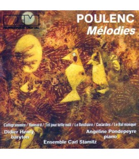 Poulenc melodies henry